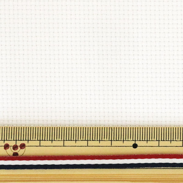 刺しゅう布 『クロス・ステッチ カットクロス 3800 アイーダ 14カウント 55目 オフホワイト(1032)』 Olympus オリムパス オリンパス