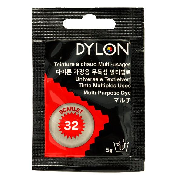 染料 『マルチブリスター 32 Scarlet スカーレット』 DYLON ダイロン