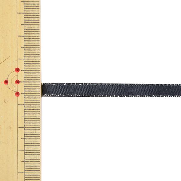 リボン 『メタリックエッジサテンリボン 58802 6mm幅×5m 一反売り 30番色』