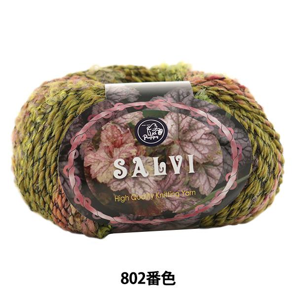 秋冬毛糸 『SALVI (サルヴィ) 802番色』 Puppy パピー
