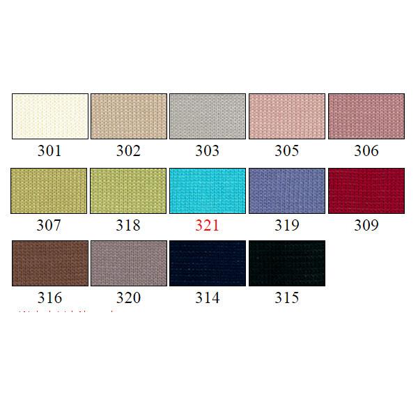 春夏毛糸 『Masterseed Cotton Crochet (マスターシードコットンクロッシェ) 301番色』 DIAMOND ダイヤモンド