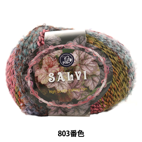 秋冬毛糸 『SALVI (サルヴィ) 803番色』 Puppy パピー