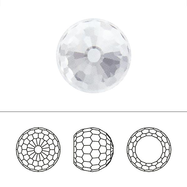 スワロフスキー 『#4869 Disco Ball Fancy Stone クリスタルヴィトライルミディアム 8mm 1粒』 SWAROVSKI スワロフスキー社