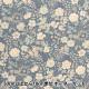 【数量5から】 生地 『ブロードプリント 花柄 ブルー KTS3449-B』 COTTON KOBAYASHI コットンこばやし 小林繊維