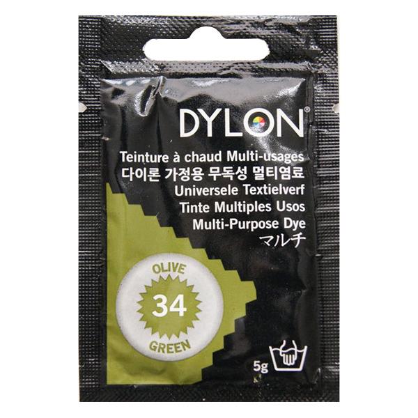 染料 『マルチブリスター 34 Olive Green オリーブグリーン』 DYLON ダイロン