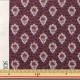 【数量5から】生地 『SOULEIADO ソレイアード シーチング プティット・フルール・デ・シャン カシスワイン SLF-518R』
