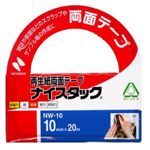 接着テープ 『ニチバン ナイスタック (細幅手芸用両面テープ) NW-10』 NICHIBAN ニチバン
