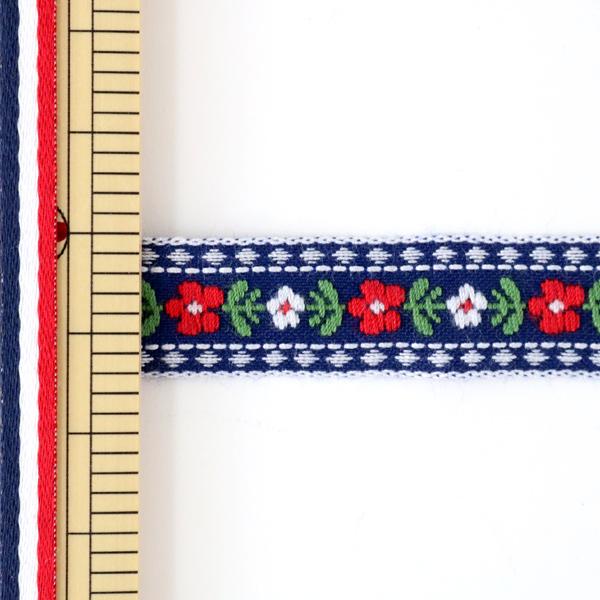 【数量5から】手芸テープ 『チロリアンテープ 144-17-055』 DARIN ダリン