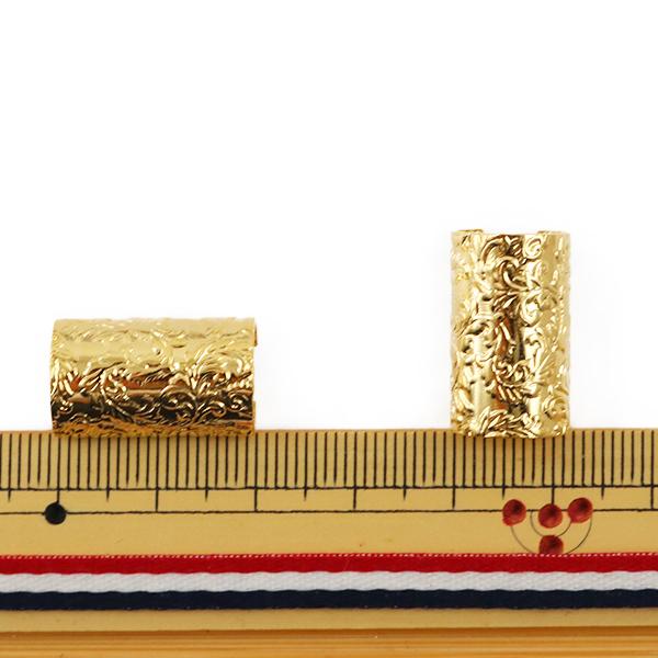 金具 『柄カン ゴールド 約2cm 4個入り』