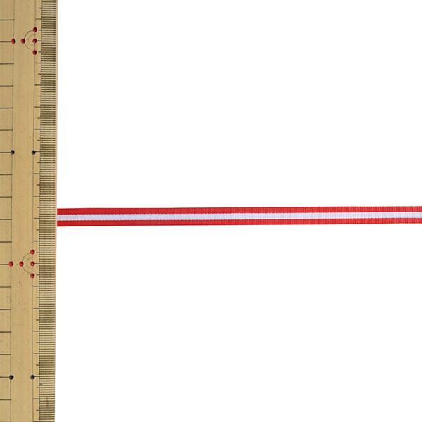 【数量5から】 リボン 『トリストライプ 幅約8mm 2番色 38000』 TOKYO RIBBON 東京リボン