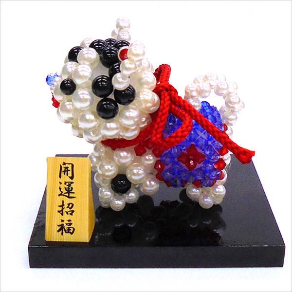ビーズキット 『招福・張子の犬の置き飾り BK-71』 HOBBIX 京都・西陣 ホビックス