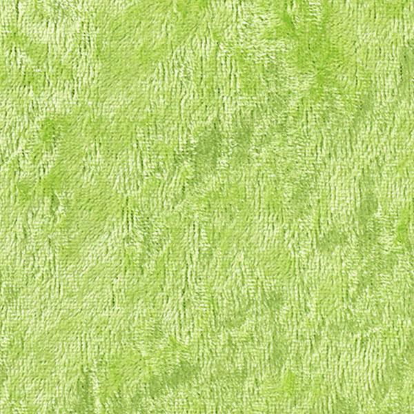 【数量5から】生地 『コスチュームベロア ライム』【ユザワヤ限定商品】
