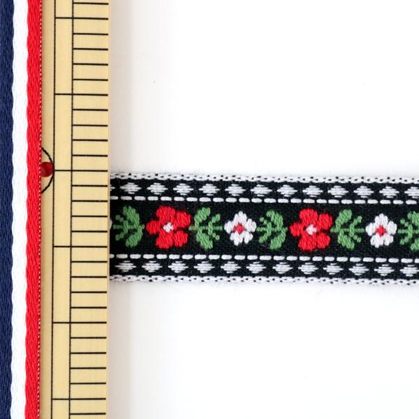 【数量5から】手芸テープ 『チロリアンテープ 144-17-009』 DARIN ダリン