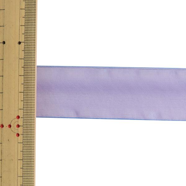 【数量5から】 リボン 『オーガンジーリボン 幅約3.8cm 11番色 4563』 MOKUBA 木馬