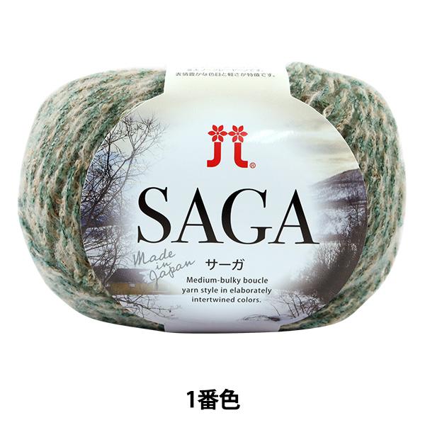 秋冬毛糸 『SAGA(サーガ) 1番色』 Hamanaka ハマナカ