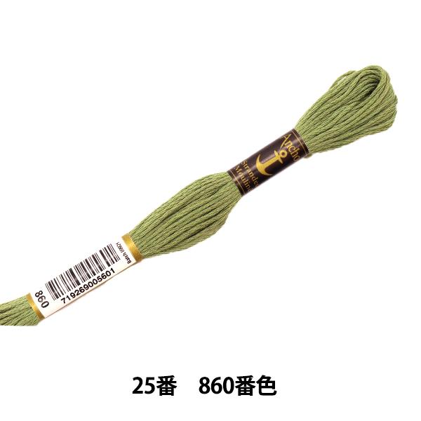 刺しゅう糸 『Anchor(アンカー) 25番刺繍糸 860番色』