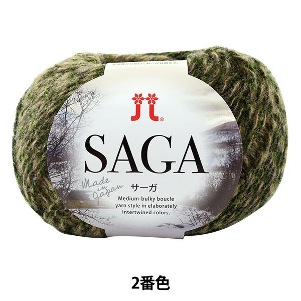 秋冬毛糸 『SAGA(サーガ) 2番色』 Hamanaka ハマナカ
