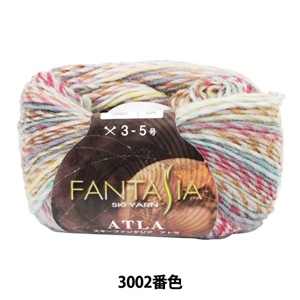 秋冬毛糸 『FANTASIA ATLA(ファンタジアアトラ) 3002番色』 SKIYARN スキーヤーン