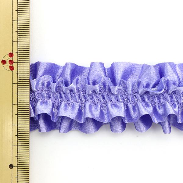 【数量5から】 レース 『サテンアームレース 紫 6番色 IR009B』