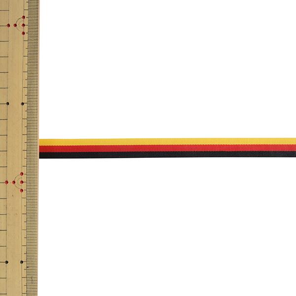 【数量5から】 リボン 『トリストライプ 幅約1.2cm 3番色 38010』 TOKYO RIBBON 東京リボン