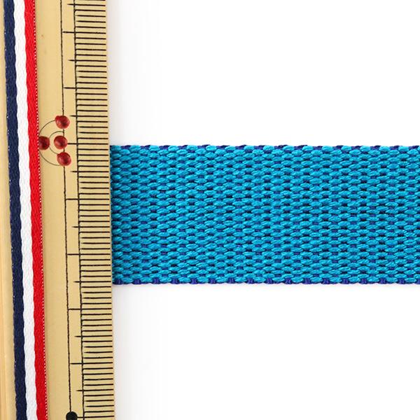 【数量5から】 テープ 『リバーシブルテープ 25mm ブルー×ネイビー』