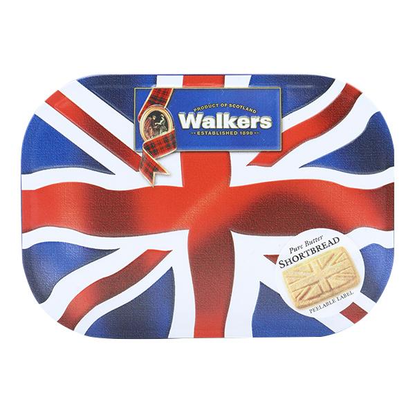 お菓子 『Walkers(ウォーカー) ショートブレット 約120g入り ユニオンジャック』 三菱食品