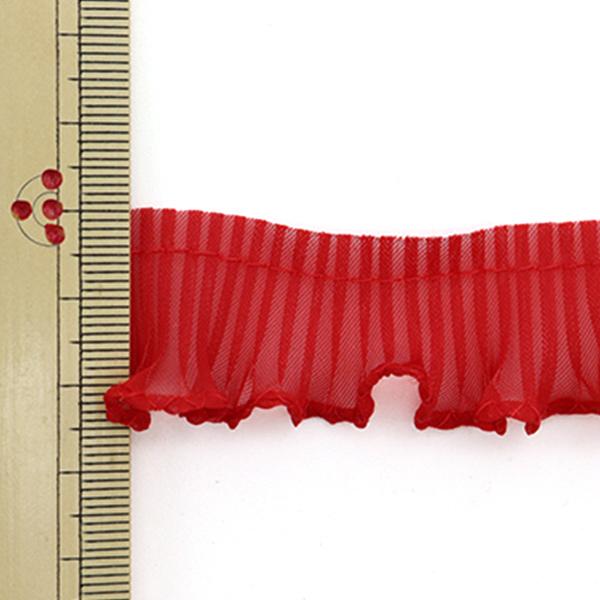 【数量5から】 フリルリボンテープ 『テトロンフリル 幅約2.5cm 11番色』 渡邊布帛工業 株式会社