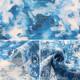 【数量5から】生地 『yui by Ayano ichiyanagi forest インクジェット 綿麻コンパス EGXA-6401-1A』 KOKKA コッカ