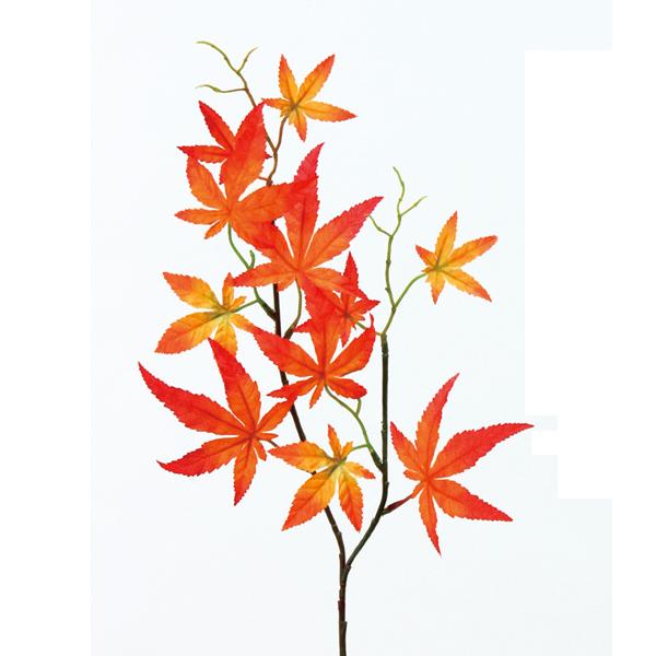 造花 シルクフラワー 『秋もみじ (小枝) FD4148-028』