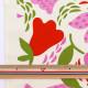 【数量5から】 生地 『う早この布 10番キャンバス 花あらし ピンク×レッド UP5756-A』 COTTON KOBAYASHI コットンこばやし 小林繊維
