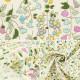 【数量5から】生地 『ブロードプリント生地 小花柄 サックス系 KTS6585-D』 COTTON KOBAYASHI コットンこばやし 小林繊維