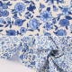 【数量5から】生地 『シーチング 小花柄 ブルー YUZ-708-1』 YUWA 有輪商店【ユザワヤ限定商品】
