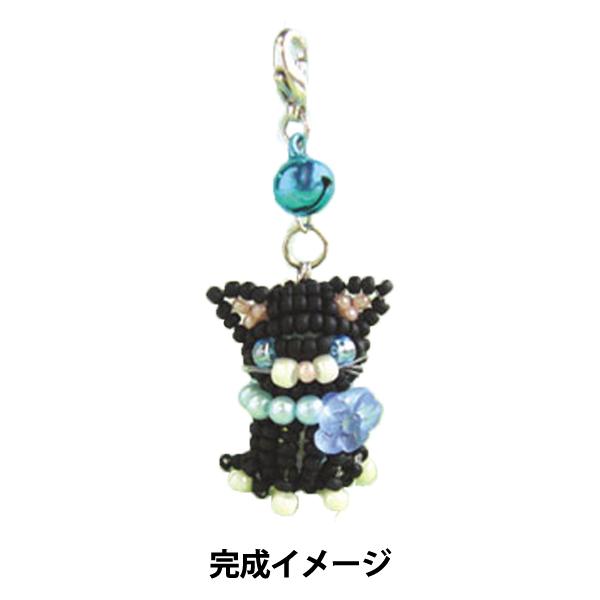 ビーズキット 『猫モチーフキット 子猫ちゃんツインズ (サファイア) No.265-BL』 MIYUKI ミユキ