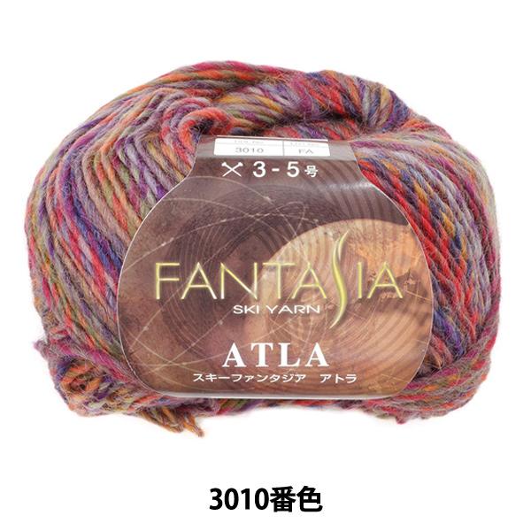 秋冬毛糸 『FANTASIA ATLA(ファンタジアアトラ) 3010番色』 SKIYARN スキーヤーン