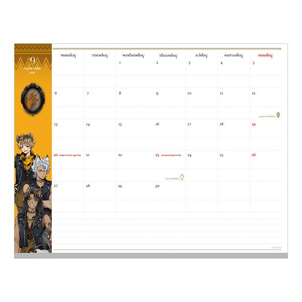 文具 『手帳 ディズニー ツイステッドワンダーランド 月間 A5 ハーツラビュル S2952831』 サンスター文具 sun-star