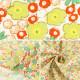 【数量5から】 生地 『コットンこばやし ブロードプリント生地 小花柄 グリーン系 KTS6586-C』