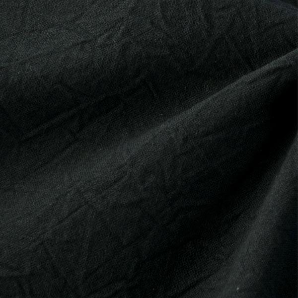 【数量5から】生地 『シーチングハンドワッシャー ブラック』
