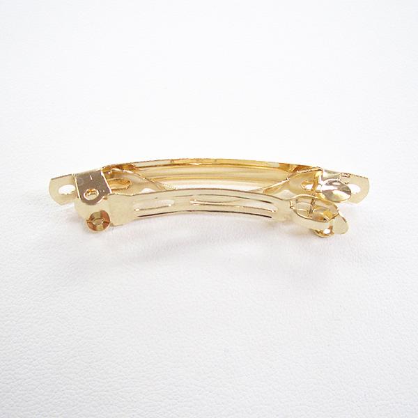 手芸金具 『バレッタ45mm 金色』