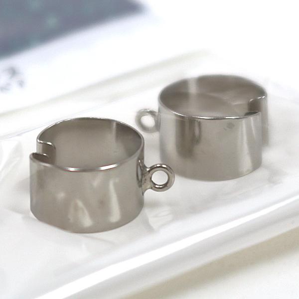 手芸金具 『3048BR イヤーカフス カン付7mm 1ペア』