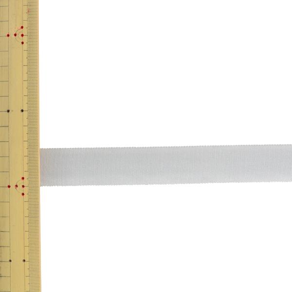 【数量5から】 リボン 『レーヨンペタシャムリボン SIC-100 幅約2.5cm 100番色』