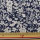 【数量5から】生地 『マンセルコレクション シーチング 花柄 紺 YUZ-675-3』 mansell マンセル YUWA 有輪商店【ユザワヤ限定商品】