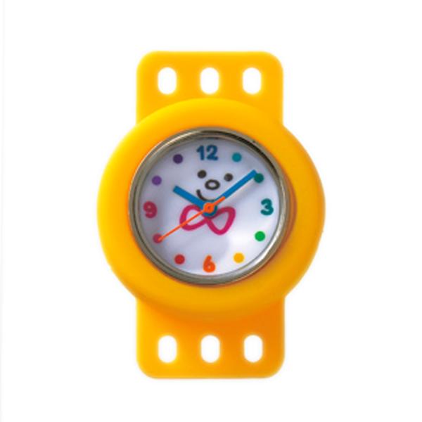 ビーズ 『トワコロンパーツ時計パーツ イエロー』