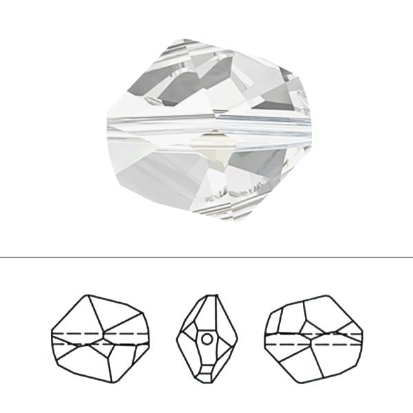 スワロフスキー 『#5523 Cosmic Bead ゴールデンシャドウ 12mm 1粒』 SWAROVSKI スワロフスキー社