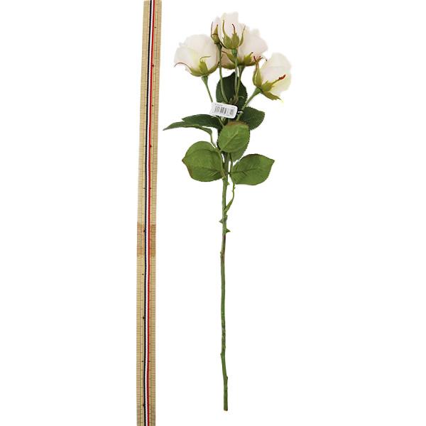 造花 シルクフラワー 『ローズスプレー×3つぼみ×2 13ライトピンク』 asca アスカ商会