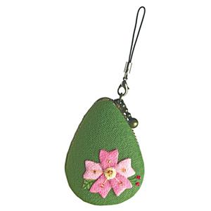 刺しゅうキット 『花のしずく マカロンポーチ 3月 桜 PA-650』 Olympus オリムパス