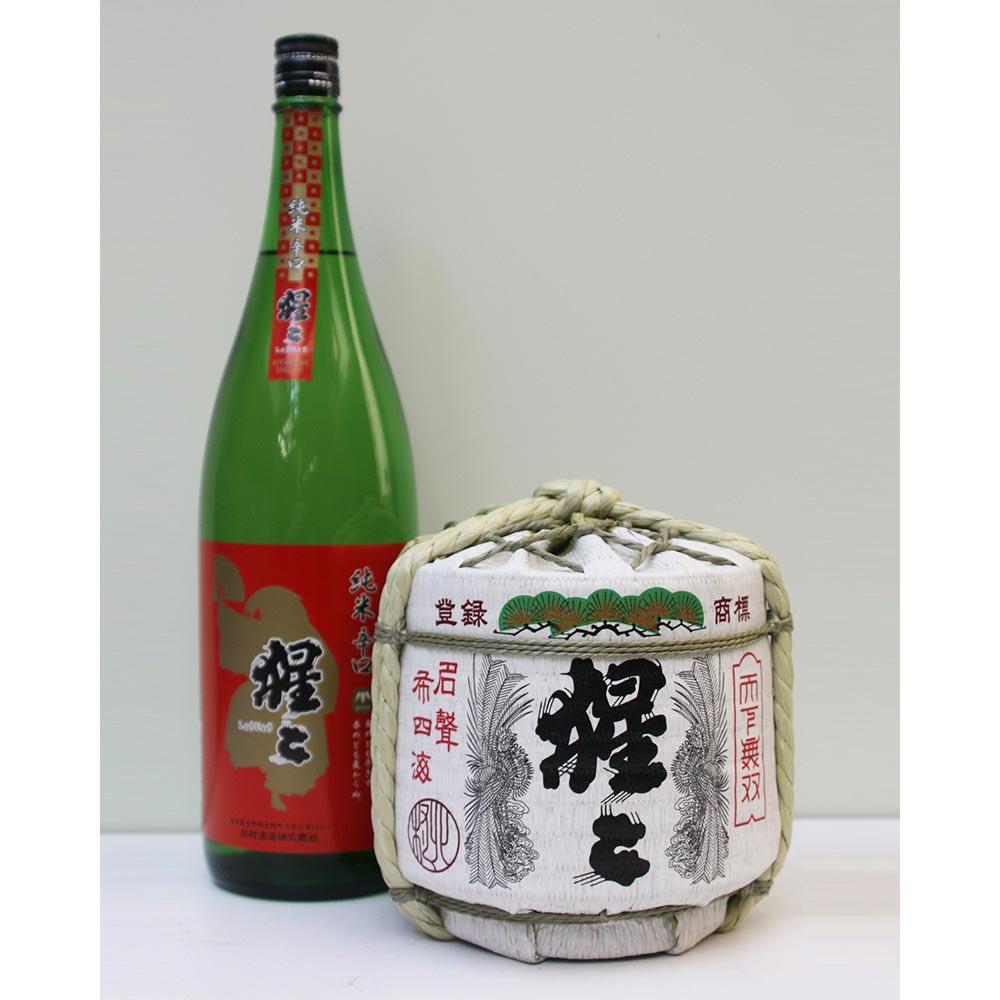 猩々 純米樽詰 1800ml