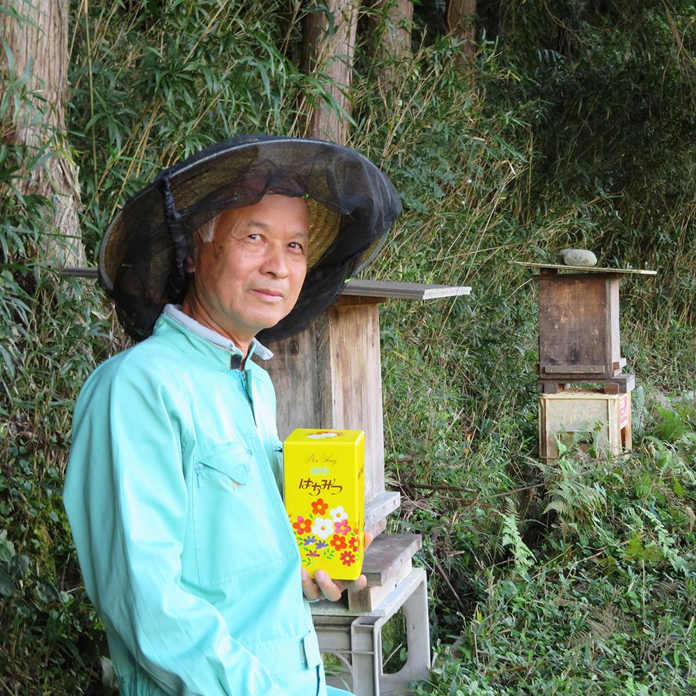 日本蜜蜂ハチミツ1,000g