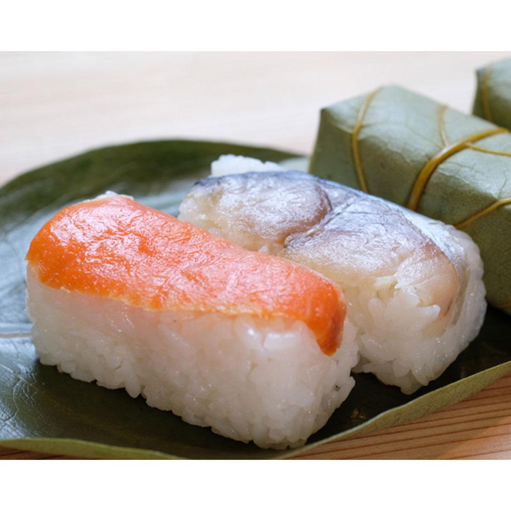柿の葉ずし12個入(鯖・鮭・金目鯛)