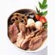 柿の葉すし7ケ入(鯖4、鮭3)と鴨と野菜の旨煮セット