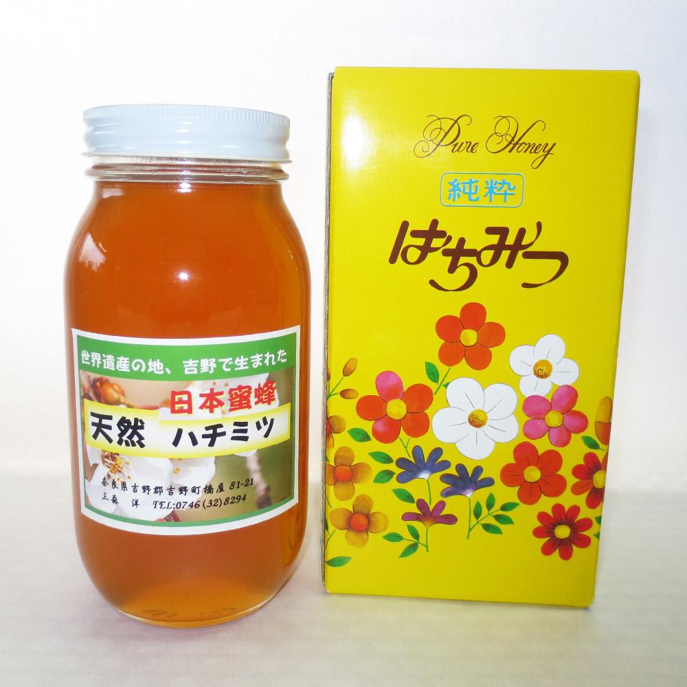 日本蜜蜂ハチミツ470g